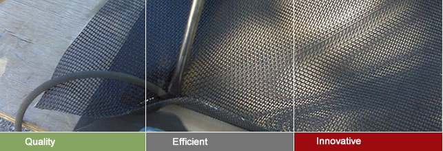 Magnetic Insect Screen – Fiberglass Mesh Cut to Size for